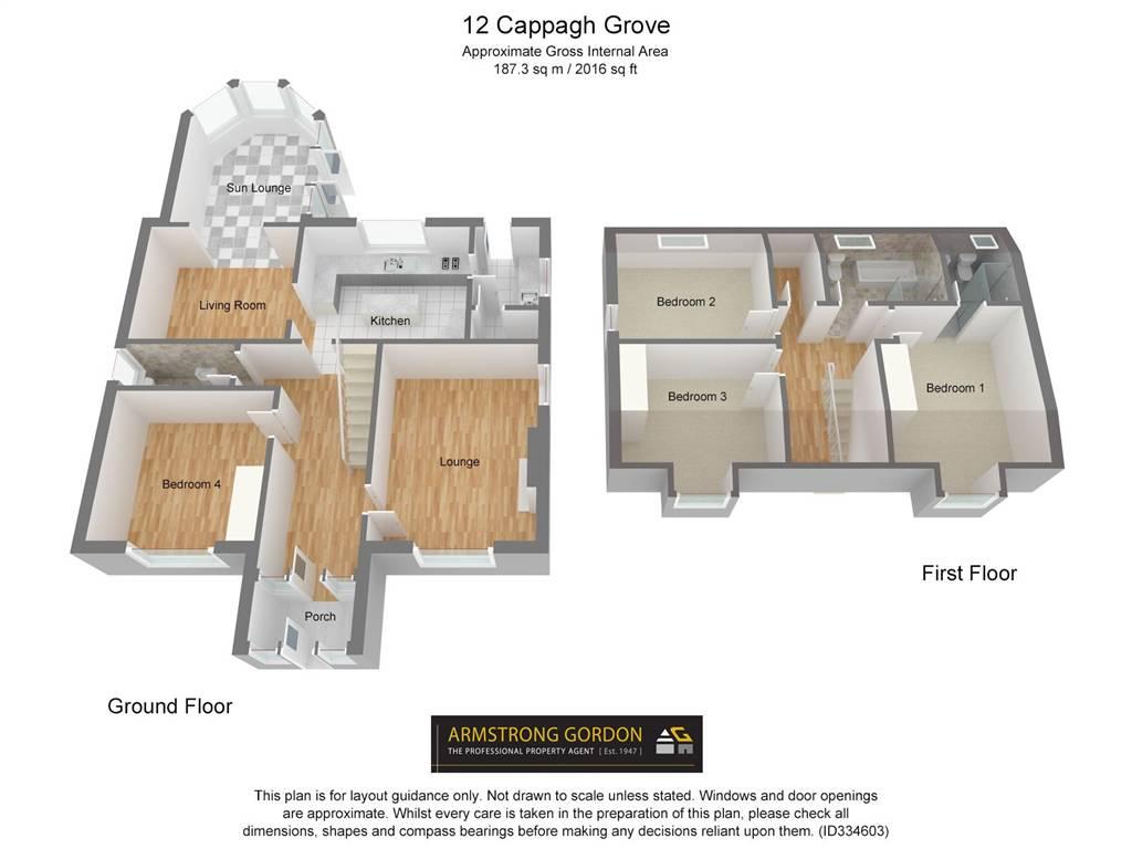 Site 12 lisderg development off station road portstewart property -  12 Cappagh Grove