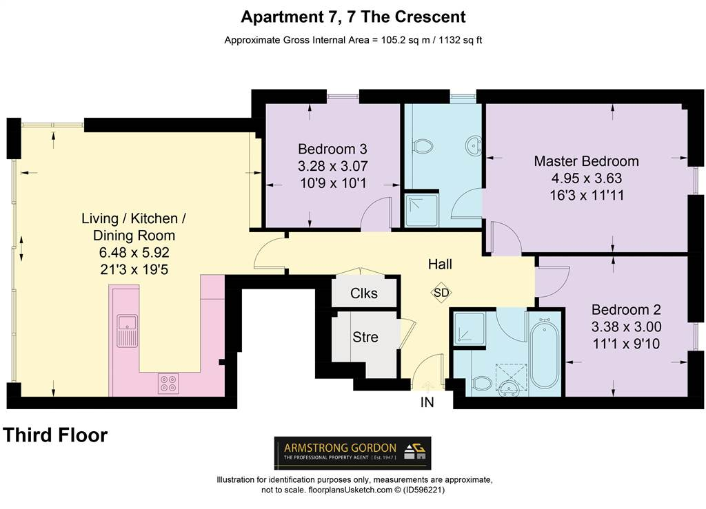 Apartment 7, 7 The Crescent